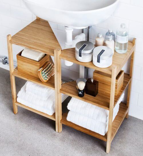 Mobiletto del bagno