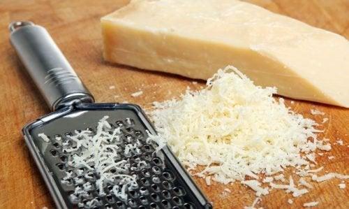 Parmigiano grattugiato per proteine