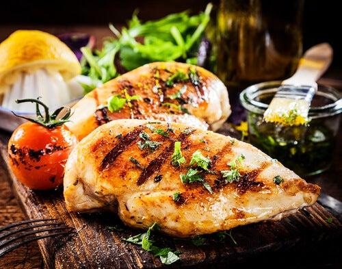 Petto di pollo migliora cocentrazione