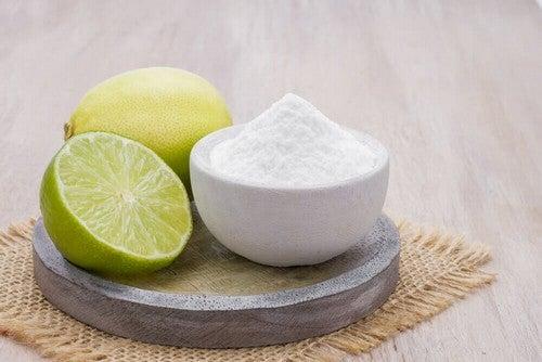 Sale e succo di limone