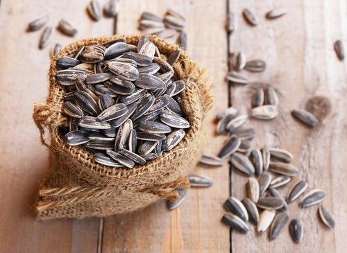I semi di girasole sono semi commestibili.