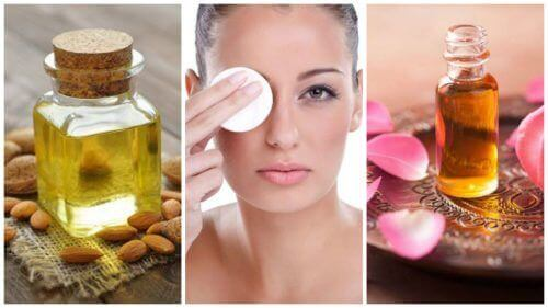 Struccare il viso ogni giorno con 6 oli naturali