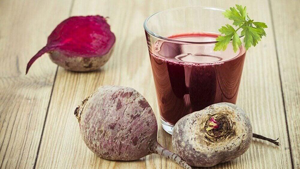 Succo di barbabietola per depurare il fegato