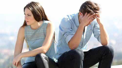 State con il vostro partner per senso di colpa o paura?