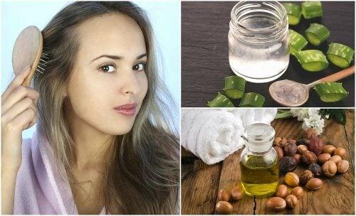 Diradamento dei capelli: 5 trattamenti naturali