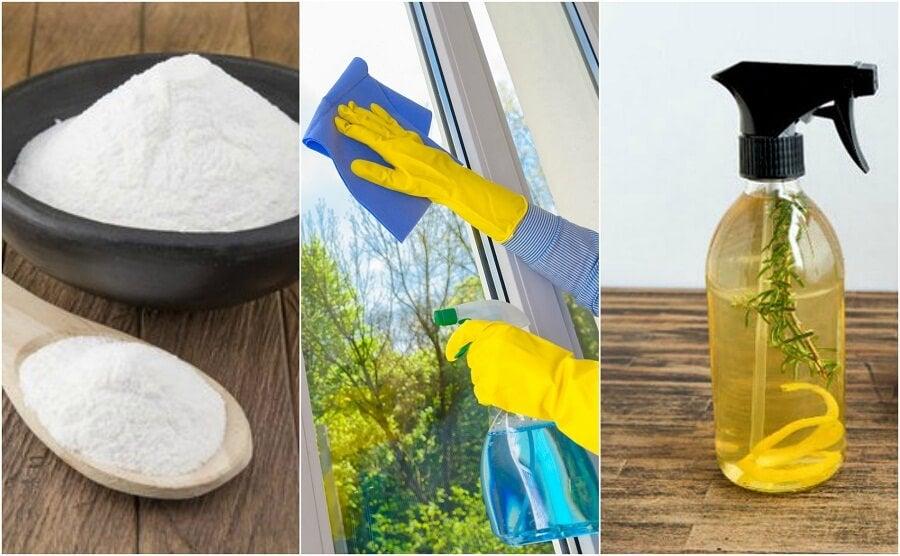 Detergenti ecologici per vetri da preparare in casa
