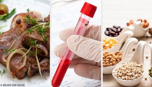 Migliorare la qualità del sangue: 5 alimenti