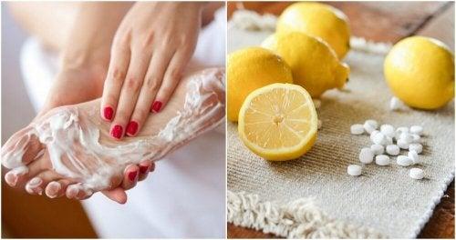 Aspirina e limone per dire addio ai calli ai piedi
