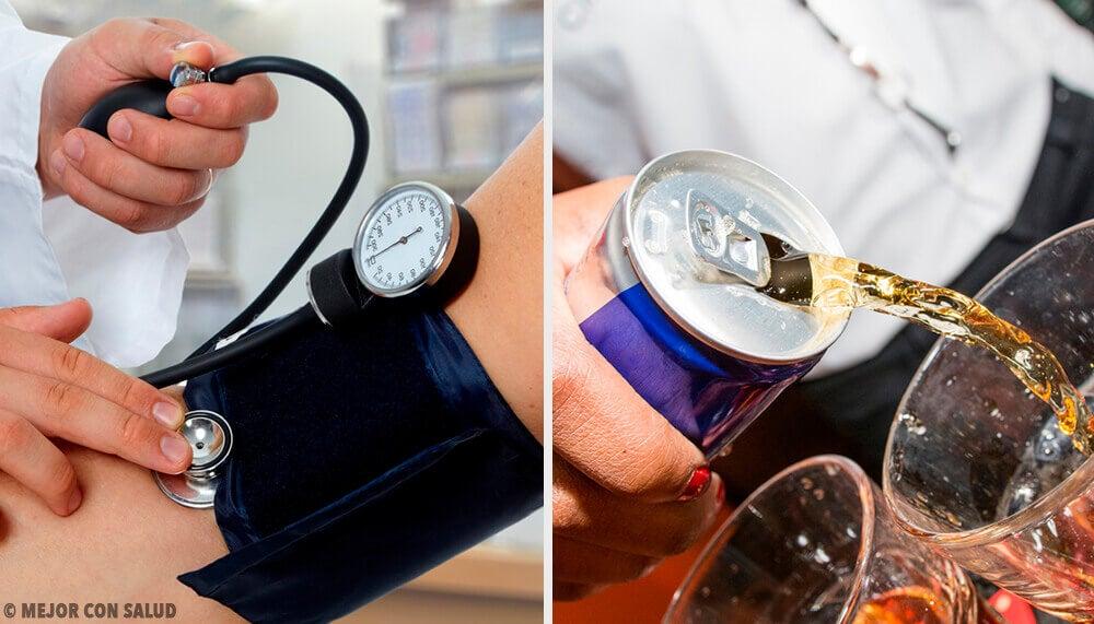 Le bevande che aumentano di più la pressione arteriosa