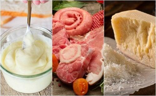Alimenti con alti livelli di colesterolo cattivo (LDL)