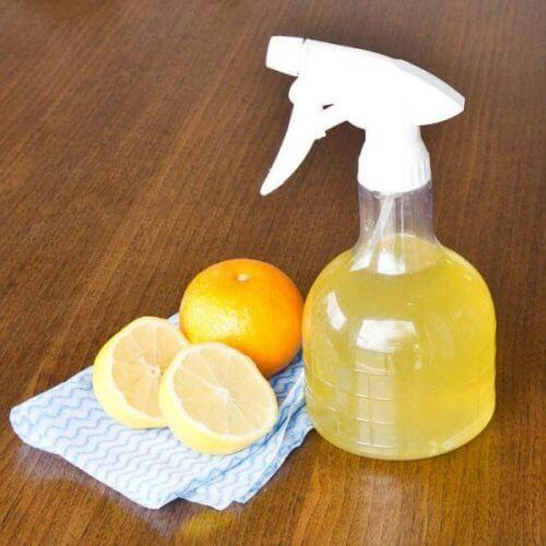 Detergente per vetri agli agrumi