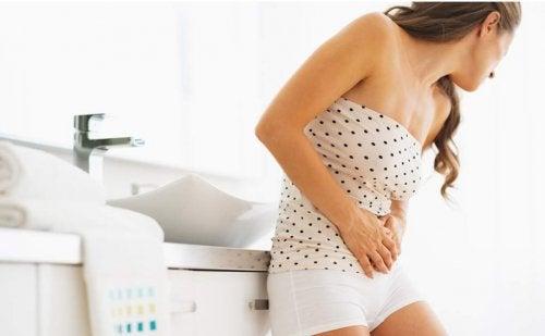 Donna con infezione vie urinarie