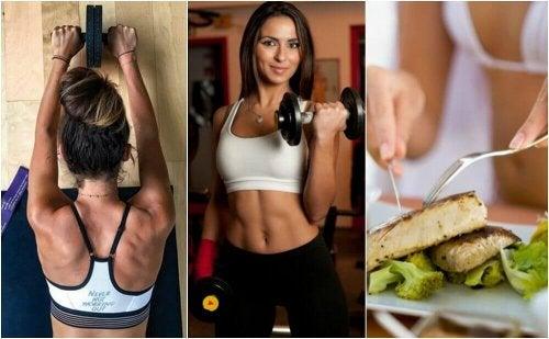 come bruciare il grasso dello stomaco e guadagnare muscoli