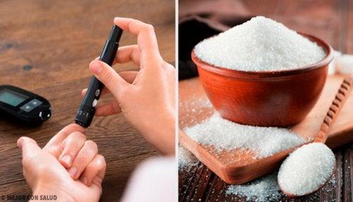 Eliminare lo zucchero in eccesso dal corpo