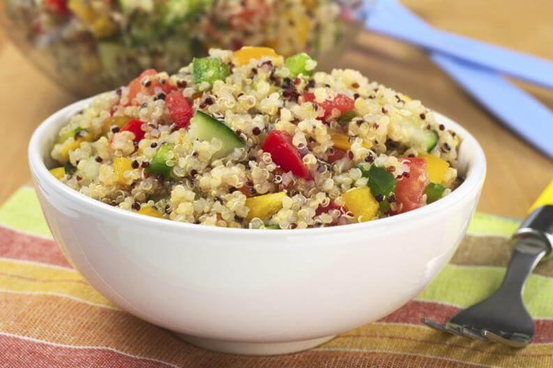 Insalata con quinoa