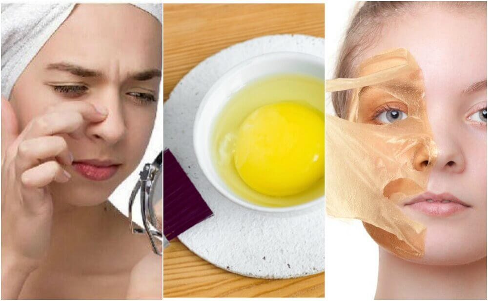 Maschere all'uovo per una pelle migliore