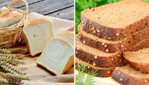 il pane integrale fa bene alla perdita di pesona