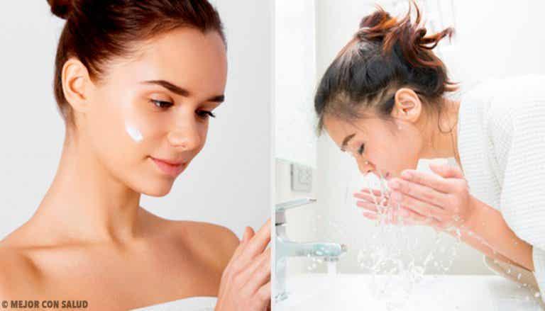 5 errori da non commettere quando si pulisce il viso