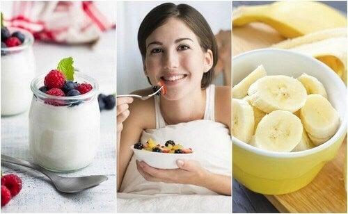 6 spuntini da fare prima di andare a dormire vivere pi sani - Frutta che fa andare in bagno ...