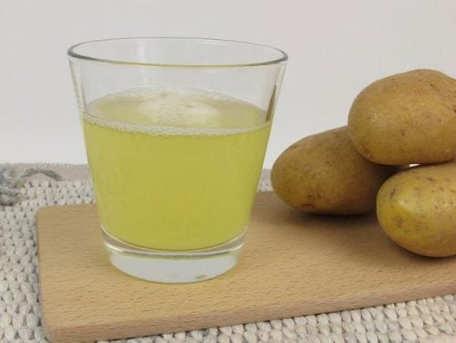 Succo di patate per far crescere i capelli forti e sani
