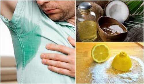 Combattere il sudore: 5 rimedi naturali