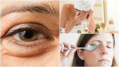 Ridurre le borse sotto gli occhi: 6 metodi naturali