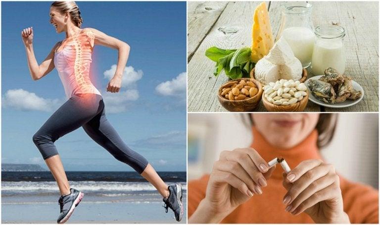 Prevenire l'osteoporosi con 7 abitudini