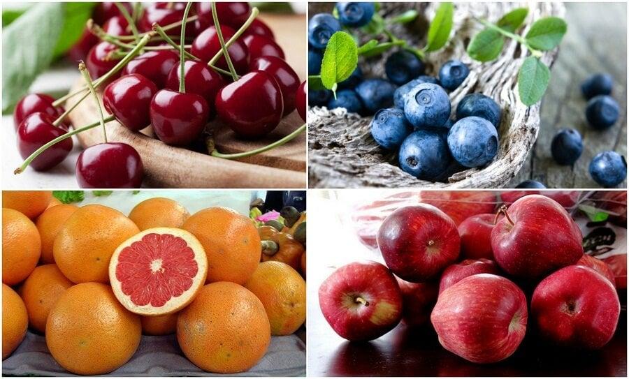 Ridurre l'accumulo di acido urico con 7 frutti