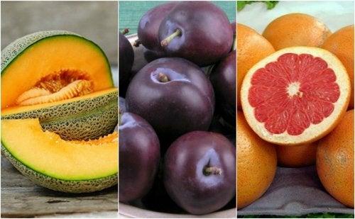 Frutti ricchi di acqua per idratare l'organismo