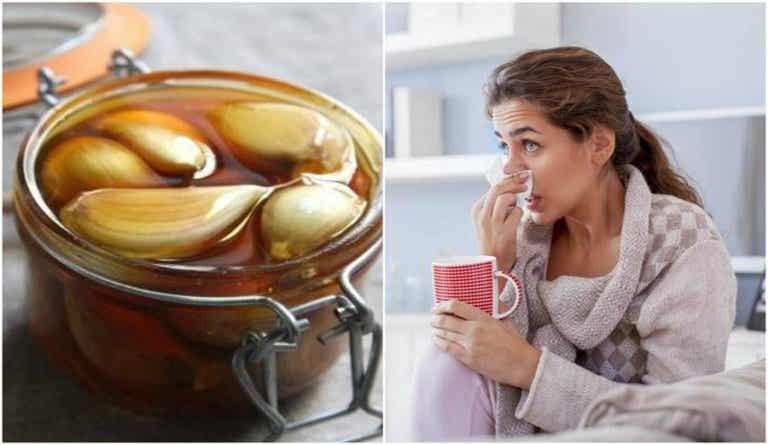 Migliorare la salute respiratoria con miele all'aglio