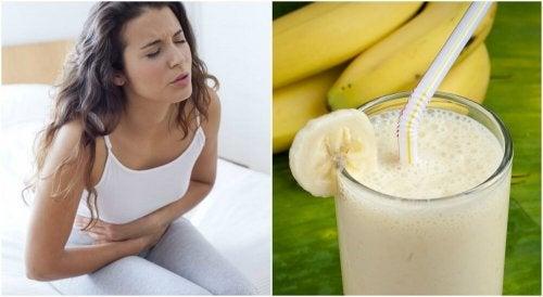 Ulcere gastriche: frullato di patata e banana