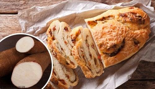 Pane di manioca senza glutine, lattosio e zucchero