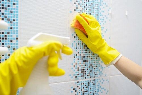 Pulire la doccia