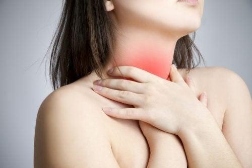 Combattere il dolore del mal di gola
