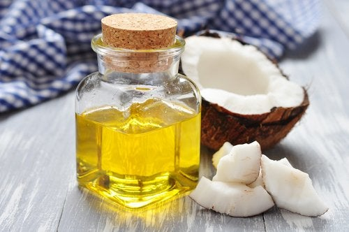 Risciacquo con olio di cocco
