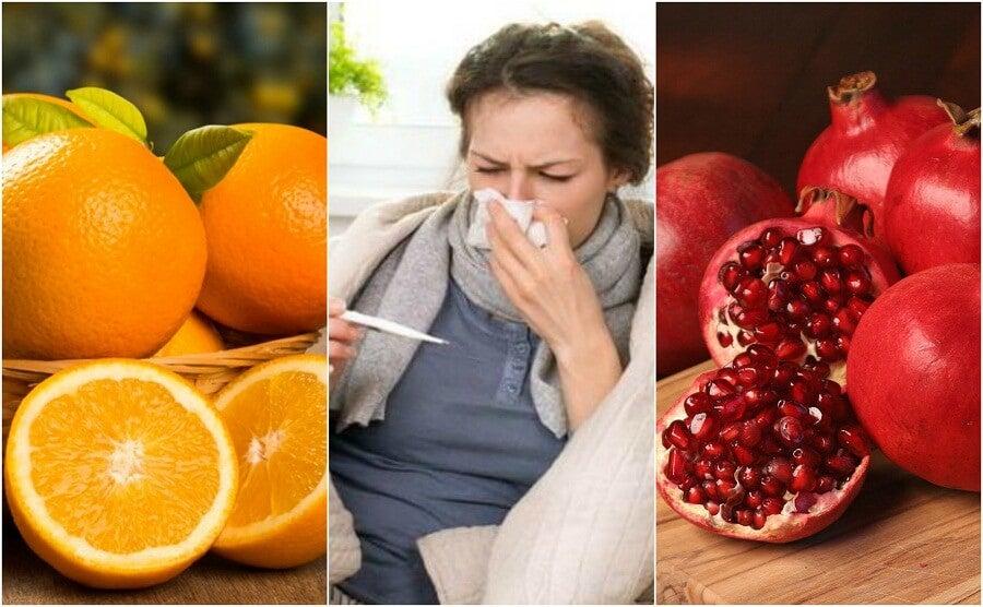Prevenire l'influenza aumentando il consumo di 8 alimenti
