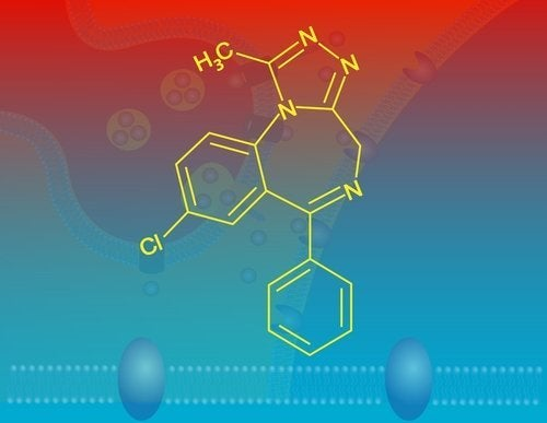 Alprazolam formula chimica