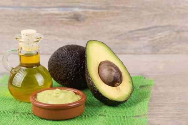 Avocado e olio d'oliva