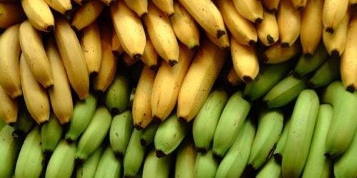 Platano e banana: 3 differenze nutrizionali