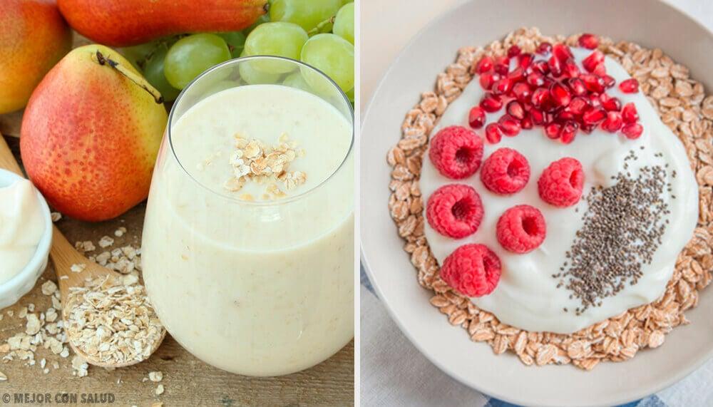 4 colazioni a base di avena per accelerare il metabolismo