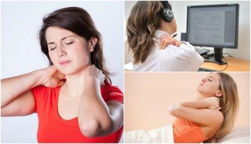 Dolore al collo: scoprite 6 possibili cause