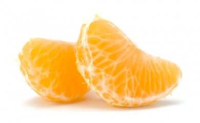 Spicchi di mandarino.
