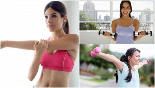 Rassodare il seno con 5 semplici esercizi