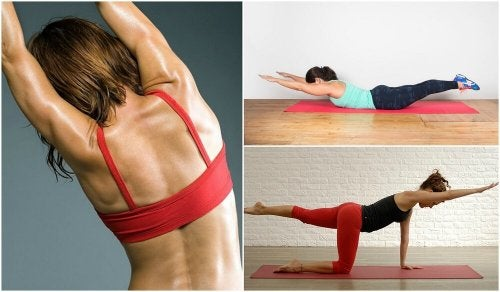 Esercizi per la schiena senza pesi