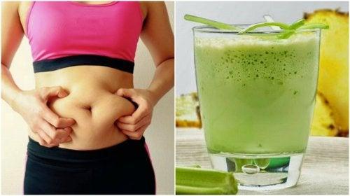 frullati verdi per piano di perdita di peso