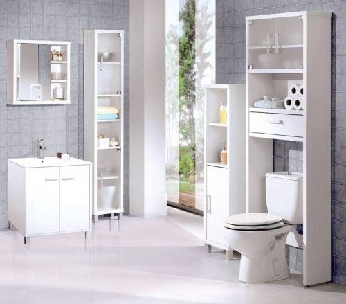 Gabinetto bagno moderno