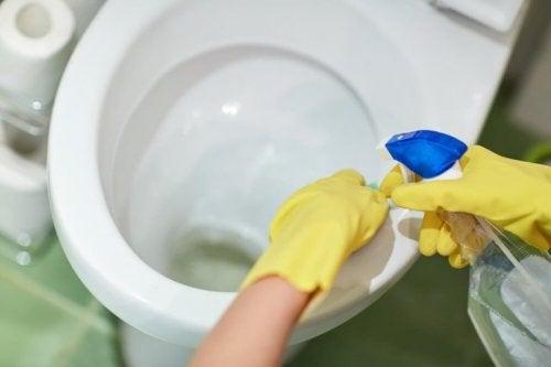 Igienizzare il bagno