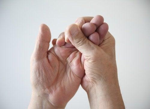 Estremità colpite dalla polmonite