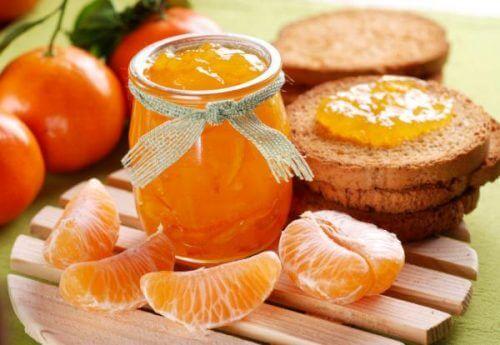 Marmellata di mandarini per aumentare le difese del corpo