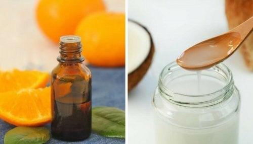 Pelle liscia e luminosa: olio nutritivo di cocco e agrumi